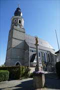 Image for Katholische Pfarrkirche St. Mariae Himmelfahrt - Feichten an der Alz, LK Altötting, Bavaria, Germany