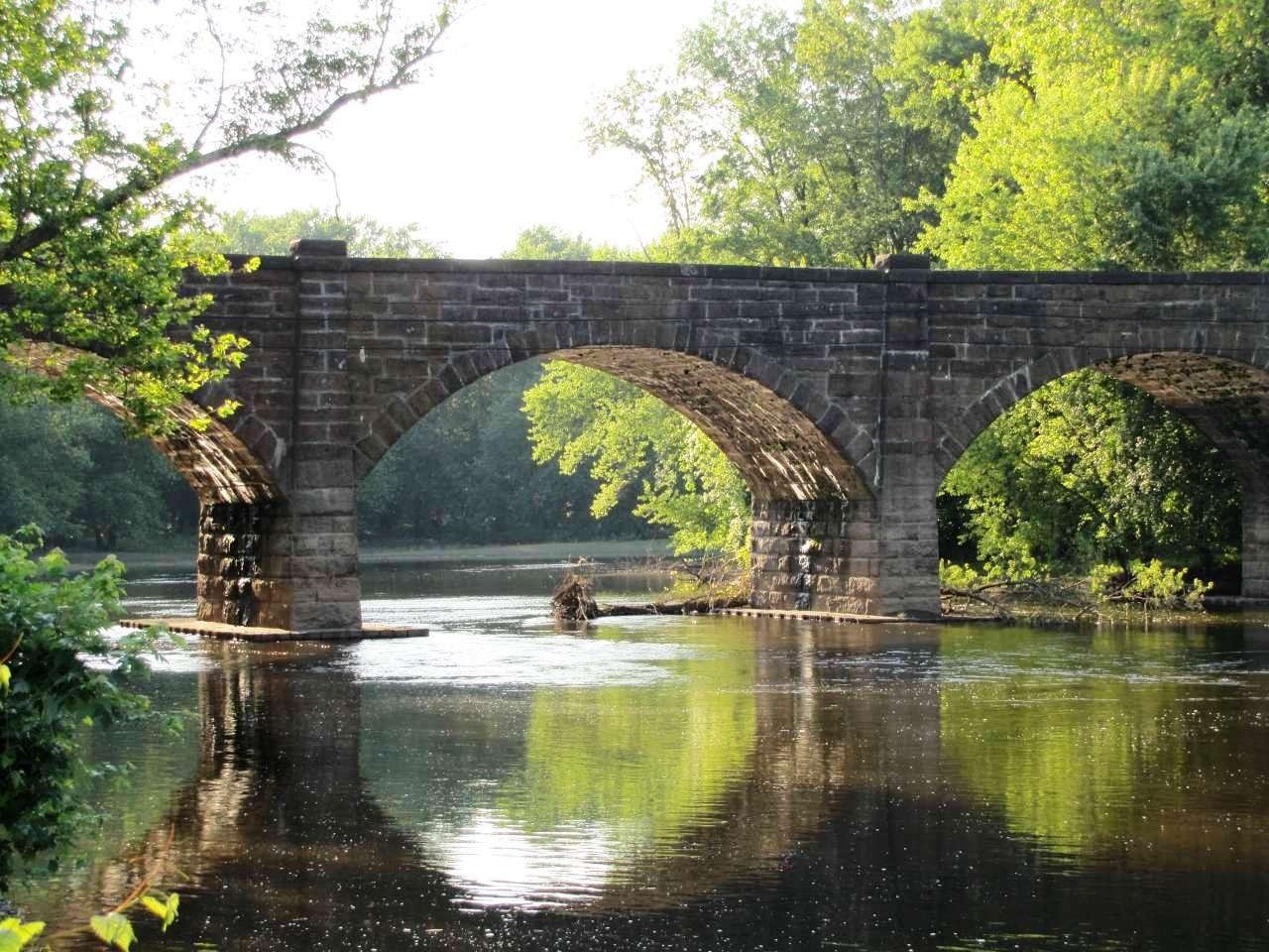 Farmington River Railroad Bridge - Windsor, Connecticut