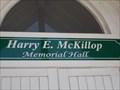 Image for Harry E. McKillop Memorial Hall - McKinney, TX