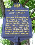 Image for Gettys Crossroads and Tavern