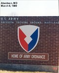 Image for Aberdeen Proving Ground-Home of Army Ordnance - Aberdeen MD