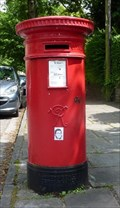 Image for Victorian Pillar Box - Oakfield Street, Cardiff, Wales, UK
