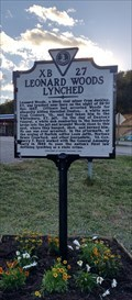Image for Leonard Woods Lynched