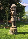 Image for Salish Welcoming Figure - Cowichan Bay, British Columbia, Canada
