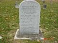 Image for Pennsylvania Militia Memorial - Upper Indiana Cemetery - Vincennes, Indiana