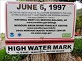 Image for Yellowstone River High Water Mark - Livingston, MT