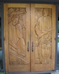 Image for Valley Presbyterian Church Gospel Doors - Portola Valley, CA