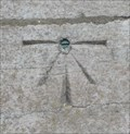 Image for Cut Mark At Base Of St. Andrew's Church Tower - Newton Kyme, UK