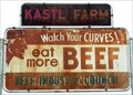 "Image for ""Watch Your Curves! Eat More Beef"" Sign"