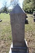 Image for Frank Wehmeyer -- Frieden's Church of Washington County, UCC Cemetery, Washington TX