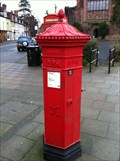 Image for Victorian Post Box on Abbey Foregate in Shrewsbury, Shropshire