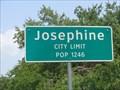 Image for Josephine, TX - Population 1246