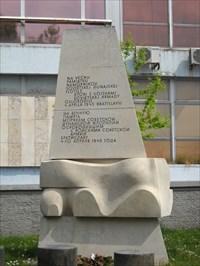 Pomník námorníkum Sovetské Dunajské flotily - Bratislava, Slovakia