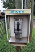Image for Southern RR Depot Pay Phone -- Plains GA