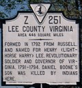 Image for Lee County Virginia
