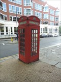 Image for Red Telephone Box - Garnault Place, London, UK