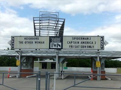 veritas vita visited Admiral Twin Drive-In Theatre