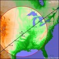 Image for ISS Sighting: Bethany, OK - Olathe, KS - Holland, MI - Ottawa, ON - site 2