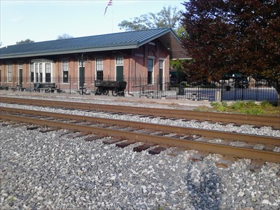 The Train Depot is in the Town Square, and serves as an historic museum.  However, it