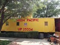 Image for UP 25334 Caboose - Big Spring, TX