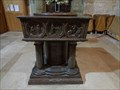 Image for Norman Baptismal Font - Christchurch Priory - Dorset, UK.
