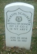 Image for First Lieutenant (then Private) Martin Schubert -  St. Louis, MO