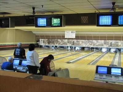 Inside Linbrook Bowl, Anaheim, CA