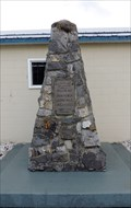 Image for Royal Canadian Legion Cairn - Okanagan Falls, British Columbia