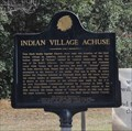Image for FIRST -- Indian Village Visited by a White Man, Shell Banks AL