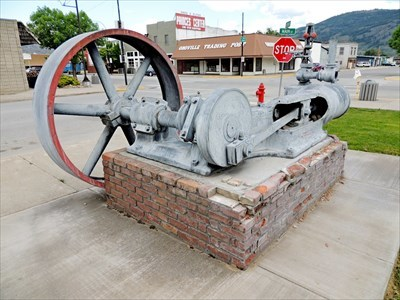 Brownell and Company Steam Engine - Oroville, WA - Preserved