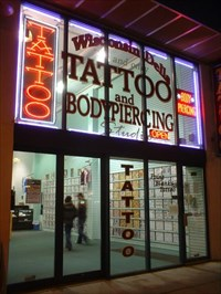 Point blank tattoo ii wisconsin dells tattoo shops for Tattoo shops in wisconsin