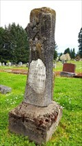 Image for Aulden A. McCumber - Pleasant Hill Cemetery - Pleasant Hill, OR