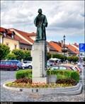 Image for Jan Hus memorial / Pomník Jana Husa - Roudnice nad Labem (North Bohemia)