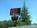 Image for Wells Fargo Time and Temperature Sign - Auburn, CA