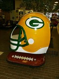 Image for Green Bay Packer Helmet - Rapids Mall - Wisconsin Rapids, WI