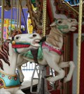 Image for Carousel at Rainbow's End. Manukau City. New Zealand.