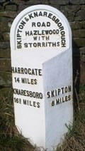 Image for Milestone - A59 near Storriths, Yorkshire, UK.