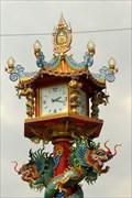Image for Clock East—Saraburi City, Saraburi Province, Thailand.