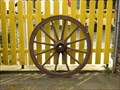 Image for Decorative Wagon Wheel, Mayschoss / RLP / Germany