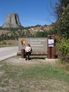 Picture of me at Devils Towner on Jayco trip