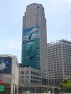 Woodward Avenue (M-1) - Whale Tower - Detroit, Michigan.