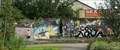 Image for Graffiti wall in front of railway station - Liberec, CZ