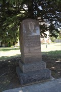Image for Memorial to Union Veterans of the Civil War -- Wahpeton ND