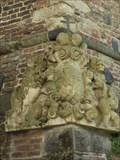Image for 2 Löwen mit Wappen neuzeitliche Befestigungsanlage - Bonn, NRW, Germany