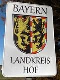 Image for Wappen des Landkreises Hof - Stammbach,BY, Deutschland