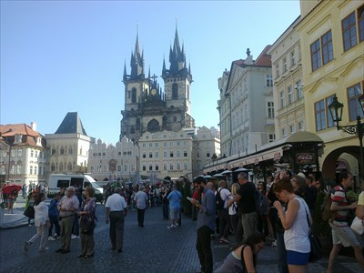 Old Town Square (Prague, Bohemia, Czech Republic)