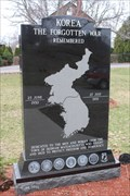 Image for Korean War Memorial - Brookdale Cemetery - Dedham, MA
