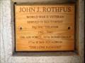 Image for John J. Rothfus - Fort Harrison, Montana