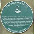 Image for Spa Park Maze, Royal Spa Gardens, Park Rd, Ripon, N Yorks