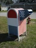 Image for Patriotic Mailbox - Lake Butler, FL
